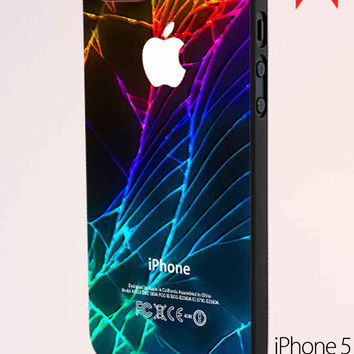 Cracked Out Broken Glass Fdl 2 iPhone 5 Case