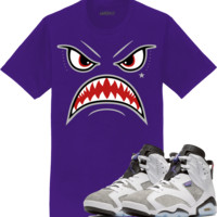 Jordan 6 Flint Sneaker Tees Shirt to Match - BRED WARFACE