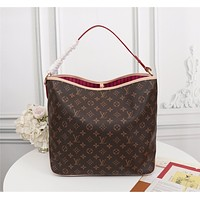 Louis Vuitton LV Women Leather Shoulder Bags Satchel Tote Crossbody Satchel