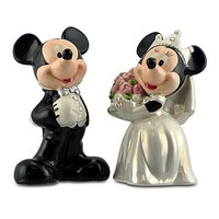 Disney Wedding Minnie and Mickey Mouse Salt and Pepper Set -- 2-Pc. | Disney Store