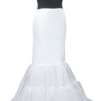 Mermaid Wedding Dress Petticoat Slip