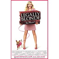 Legally Blonde The Musical 27x40 Broadway Show Poster