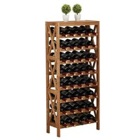 Solid Wooden Wine Rack Holder