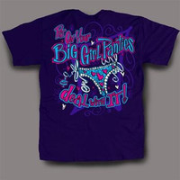 Sweet Thing Funny Big Girl Panties Purple Girlie Bright T-Shirt