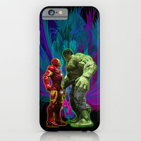 Machine vs Muscle iPhone & iPod Case by Greenlight8