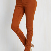 Brooklyn Bound Pants in Copper by ModCloth