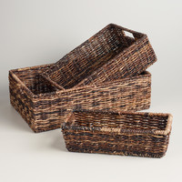 Madras Storage Baskets - World Market