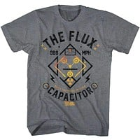Back to the Future Flux Streetwear Tee Shirt