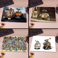 Walle Rd meets R2D2 BB8 Star Wars Robots Cartoon Computer Mouse Pad Mousepad Decorate Your Desk Non-Skid Rubber Pad hwd