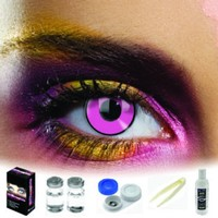 EDIT Pink Coloured Contacts (Kit)