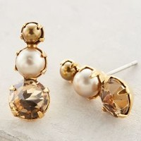 Sawyer Posts by Elizabeth Cole Pearl One Size Earrings
