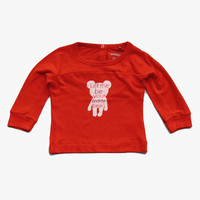 Imps and Elfs Teddy Bear Tee - Red - 1150600 - FINAL SALE