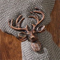 Stag Napkin Ring - Set of 4