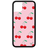 Cherries iPhone 11 Case | Pink