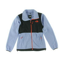 The North Face Womens Contrast Trim Long Sleeves Fleece Jacket