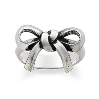 James Avery Bow Ring - Silver 8