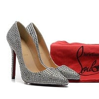 Cl Christian Louboutin Fashion Heels Shoes-149