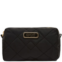 Marc by Marc Jacobs Large Black Crosby Quilted Cosmetic Bag   Accessories   Liberty.co.uk