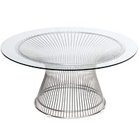 Silver Wire Coffee Table