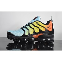 "2018 Nike Air Max Plus TN VM ""Corlorful"" Vapormax Vapor Max Men Fashion Running Sneakers Sport Shoes"