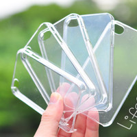 """Blank or clear DIY iPhone 4 and iphone 4s case : """" 5 Pieces """""""