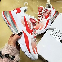 NIKE Air Max 270 React Air cushion jogging women men shoes sneakers