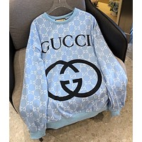 GG  Crew neck sweater long sleeve Pullover
