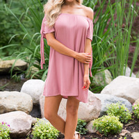 Knot Your Average Dress - Dusty Rose