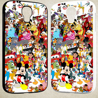 Disney Cartoon Characters F0361 Samsung Galaxy S3 S4 S5 (Mini), Note 2 Note 3 Note 4, HTC One M7 M8 Cases