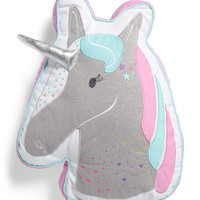 Kids 15x19 Unicorn Head Pillow - Throw Pillows - T.J.Maxx