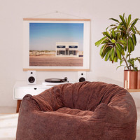 Rossanna Acid Wash Soft Lounge Chair | Urban Outfitters
