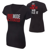 "Brie Bella ""Brie Mode Activated"" Women's Authentic T-Shirt"