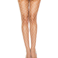Thick Diamond Fishnet Pantyhose