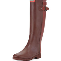 Hunter Boot Original Refined Back Strap Welly Boot