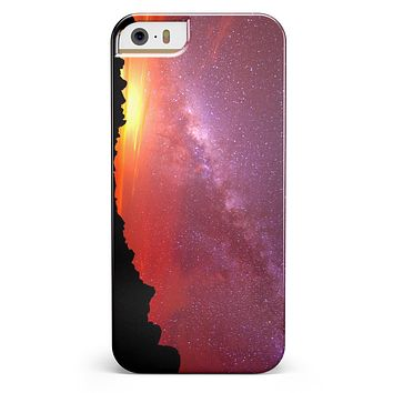 Beautiful Milky Way Sunset iPhone 5/5s or SE INK-Fuzed Case