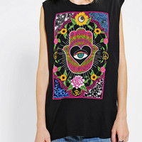 Truly Madly Deeply Mystical Flowers Muscle Tee