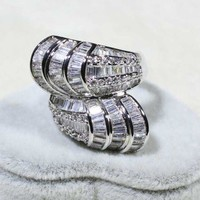 Womens Twist Dinner Ring Only 1 in Stock