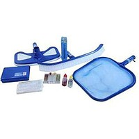 By PoolCentral 5-Piece Premium Swimming Pool Cleaning Maintenance Set with Test Kit