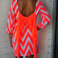 Cheveryone's Favorite Dress: Neon Orange | Hope's