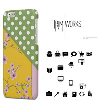 Polka dots iPhone 6 case iPhone 6 Plus Case iPhone 5 Case floral Samsung Galaxy S4 Case Samsung Galaxy S5 Case Samsung Galaxy S6 Case