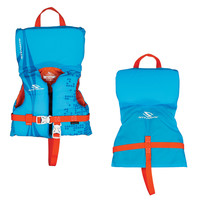 Stearns Infant Antimicrobial Nylon Vest Life Jacket - Up to 30lbs - Blue