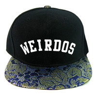 Ornate Weirdos Snapback Hat