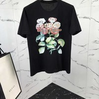 NEW 100% Authentic GUCCI 2018SS FLOWERS t shirt   ※012