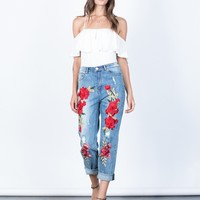 Pop of Rose Jeans