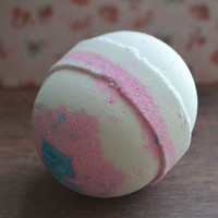 Bath Bomb *Plumeria* Relaxing Scent! Extra Large Shea Butter Bath Bomb, 6 ounces!! Perfect Easter Gift