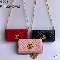 Gucci Women Leather Shoulder Bag