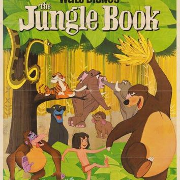 The Jungle Book 27x40 Movie Poster (1967)