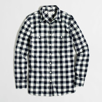 Flannel shirt in perfect fit
