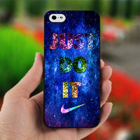 NIKE Just Do It Galaxy Nebula - Photo on Hard Cover for iPhone 5