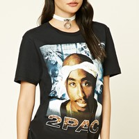 2Pac Graphic Band Tee
